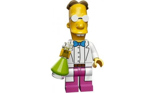 Минифигурки Симпсоны 2-й выпуск - Профессор Фринк 71009-9 Лего Минифигурки (Lego Minifigures)