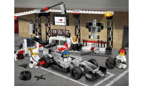 Пункт техобслуживания McLaren Mercedes 75911 Speed Champions