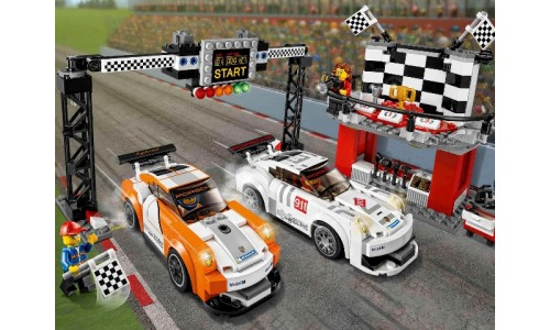 Финишная линия гонки Porsche 911 GT 75912 Speed Champions