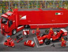 Феррари F14 и грузовик Скудерии Феррари - 75913