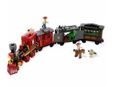 Ковбойское преследование поезда - 7597