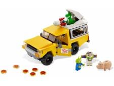 Спасение на машине Планеты Пицца - 7598