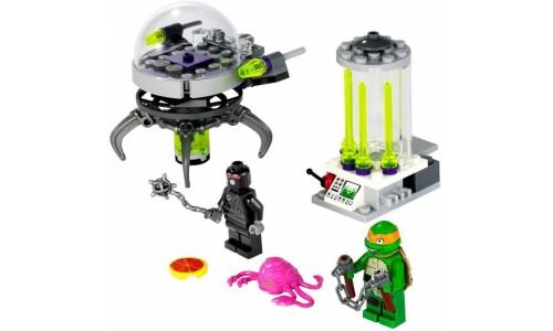 Побег Крэнга из лаборатории 79100 Лего Черепашки ниндзя (Lego Teenage Mutant Ninja Turtles)