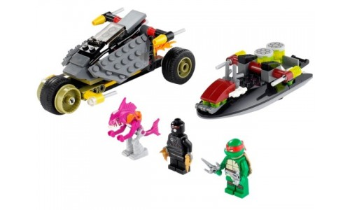 Хитрый план преследования 79102 Лего Черепашки ниндзя (Lego Teenage Mutant Ninja Turtles)