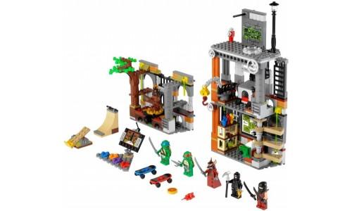 Атака логова Черепашек 79103 Лего Черепашки ниндзя (Lego Teenage Mutant Ninja Turtles)