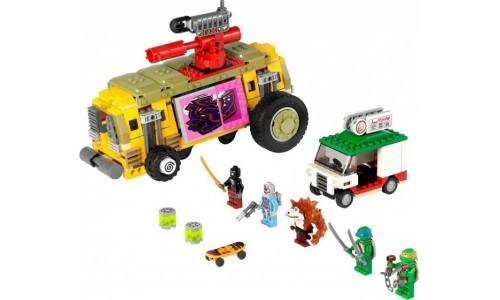 Преследование на грузовике Черепашек 79104 Лего Черепашки ниндзя (Lego Teenage Mutant Ninja Turtles)