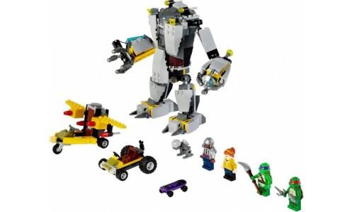 Нападение робота Бакстера 79105 Лего Черепашки ниндзя (Lego Teenage Mutant Ninja Turtles)