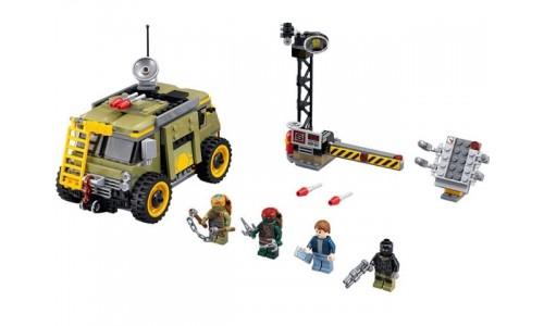 Освобождение фургона черепашек 79115 Лего Черепашки ниндзя (Lego Teenage Mutant Ninja Turtles)