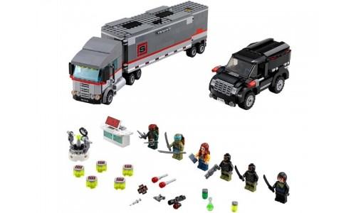 Большая снежная машина для побега 79116 Лего Черепашки ниндзя (Lego Teenage Mutant Ninja Turtles)