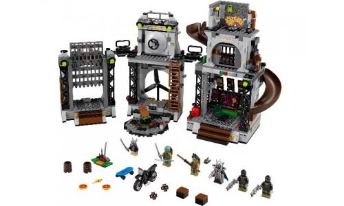 Вторжение в логово черепашек 79117 Лего Черепашки ниндзя (Lego Teenage Mutant Ninja Turtles)