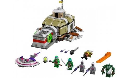 Преследование на подводной лодке черепашек 79121 Лего Черепашки ниндзя (Lego Teenage Mutant Ninja Turtles)