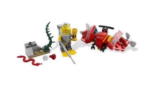 Океанический Спидер 7976 Лего Атлантида (Lego Atlantis)