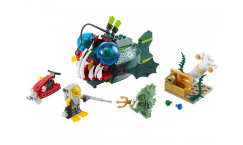Атака Морского Чёрта 7978 Лего Атлантида (Lego Atlantis)