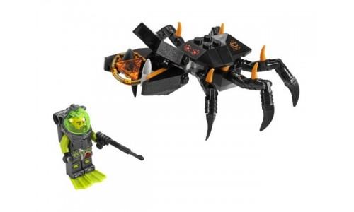 Столкновение с крабом-монстром 8056 Лего Атлантида (Lego Atlantis)
