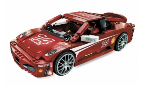 Феррари F430 в масштабе 1:17 8143 Лего Гонки (Lego Racers)