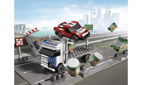 Столкновение на рампе 8198 Лего Гонки (Lego Racers)