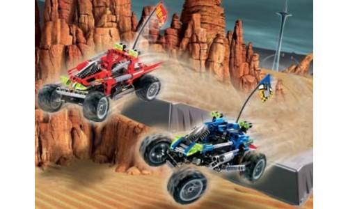 Гонщики по пустыне Баха 8363 Лего Гонки (Lego Racers)
