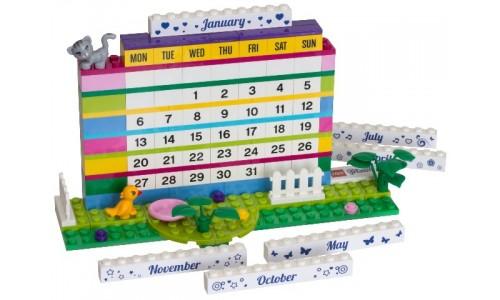 Календарь из кубиков Friends 850581 Лего Аксессуары (Lego Accessories)