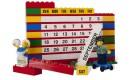 Календарь из кубиков