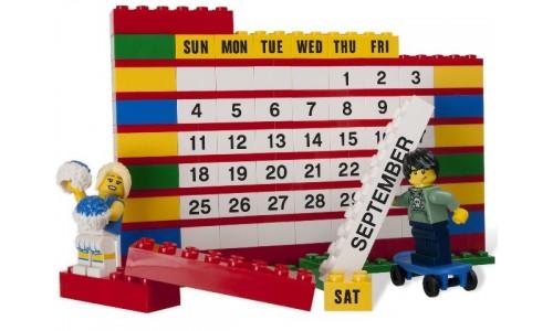 Календарь из кубиков 853195 Лего Аксессуары (Lego Accessories)