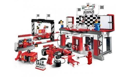 Финишная прямая Феррари 8672 Лего Гонки (Lego Racers)