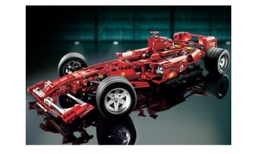 Ferrari F1 Racer в масштабе 1:8 8674 Лего Гонки (Lego Racers)