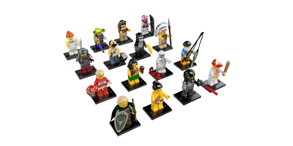 Lego minifigures купить в москве