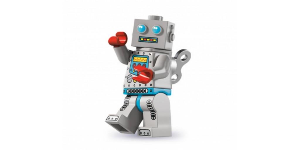 Лего поделки робот