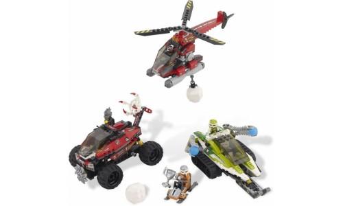 Снежный буран 8863 Лего Гонки кругосветные (Lego World Racers)