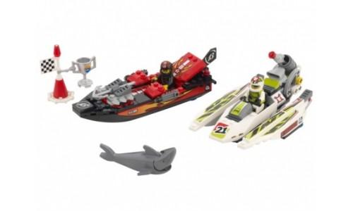 Риф Зубчатых челюстей 8897 Лего Гонки кругосветные (Lego World Racers)
