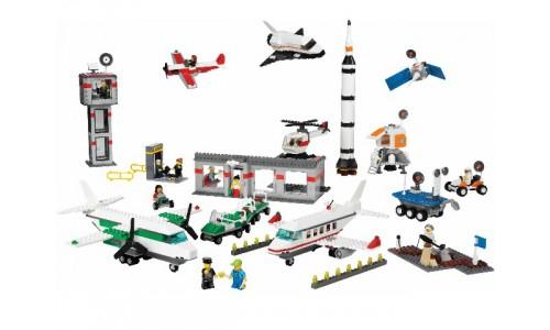 Космос и аэропорт 9335 Лего Обучение (Lego Education)