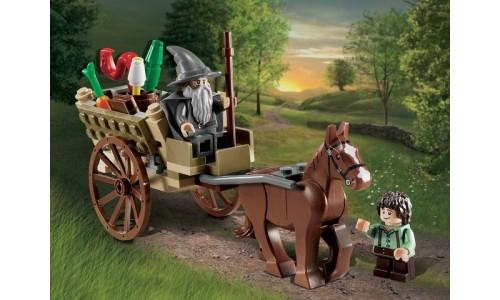 Прибытие Гэндальфа 9469 Лего Властелин Колец (Lego  Lord of the Rings)