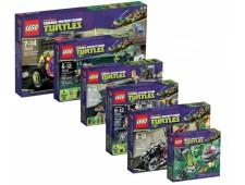 Полная коллекция наборов Черепашки ниндзя 2013 - Turtles-pack