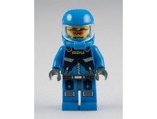 Alien Defense Unit Soldier 1 - Dark Bluish Gray Hips - ac001