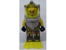 Atlantis Diver 1 - Axel - With Yellow Flippers and Trans-Yellow Visor - atl016