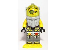 Atlantis Diver 7 - Brains - With Yellow Flippers and Trans-Yellow Visor - atl023