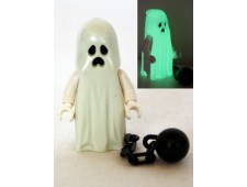 Ghost with Pointed Top Shroud and Ball and Chain - gen044