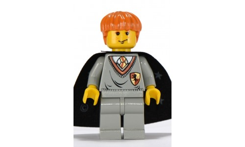 Ron Weasley, Gryffindor Shield Torso, Black Cape with Stars hp007