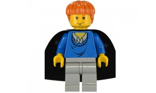 Ron Weasley, Blue Sweater, Black Cape with Stars hp034