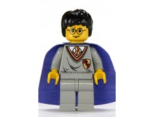 Harry Potter, Gryffindor Shield Torso, Light Gray Legs, Violet Cape - hp036