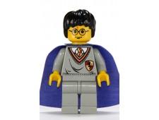 Harry Potter, Gryffindor Shield Torso, Light Gray Legs, Violet Cape - hp036