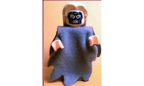 Death Eater, Dark Bluish Gray Dementor Style Cape hp073a