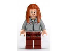 Ginny Weasley, Light Bluish Gray Knitwear, Dark Red Legs with Pocket Pattern - hp090