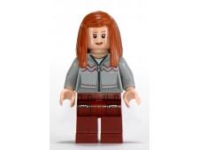 Ginny Weasley, Light Bluish Gray Knitwear, Dark Red Legs with Pocket Pattern - hp090