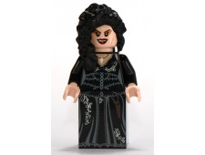 Bellatrix Lestrange, Black Dress, Long Black Hair - hp092