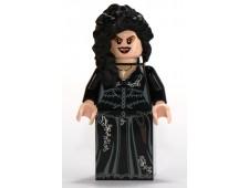 Bellatrix Lestrange, Black Dress, Long Black Hair - hp092