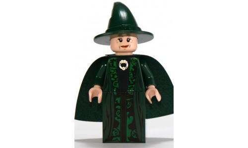 Professor McGonagall, Dark Green Robe and Cape hp093