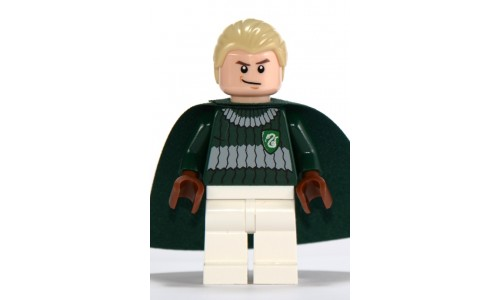 Draco Malfoy, Dark Green and White Quidditch Uniform hp108