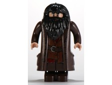 Hagrid, Dark Brown Topcoat with Buttons (Light Flesh Version with Moveable Hands) - hp111