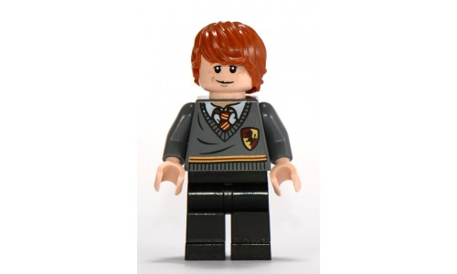 Ron Weasley, Gryffindor Stripe and Shield Torso, Black Legs hp112